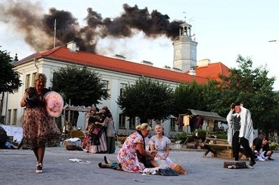 Bombardowanie Mławy