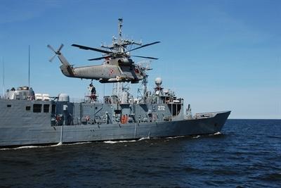 SH-2G w marynarskiej służbie