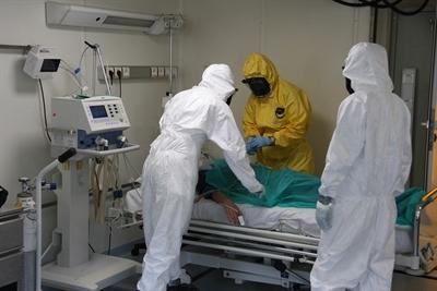 Wojskowy szpital polowy gotowy do działań