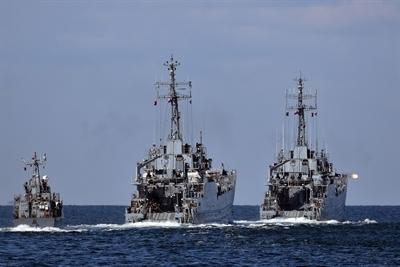 Pracowity tydzień flotylli