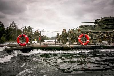 Polsko-amerykańska operacja na jeziorze Kępno