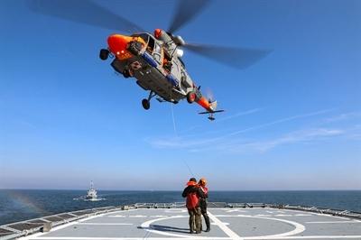 Marynarze z 8 Flotylli na czele zespołu NATO