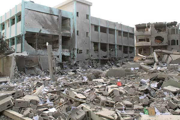 Strefa Gazy Picture: Polityczne Próby Zakończenia Konfliktu