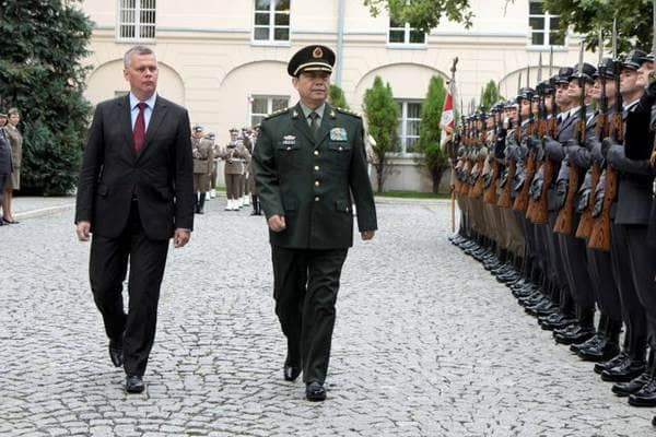 zdjęcie - Minister obrony Chin w Polsce