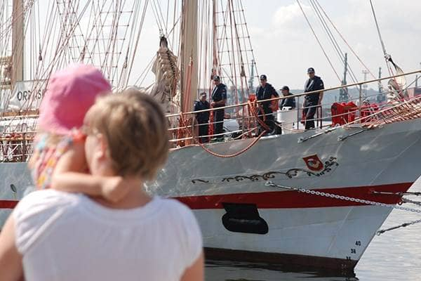 """zdjęcie - ORP """"Iskra"""" w prestiżowych regatach"""