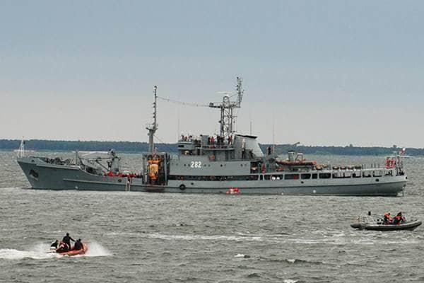 zdjęcie - Marynarka wojenna szuka na Bałtyku ...