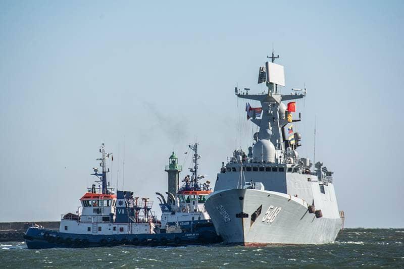 zdjęcie - Chińskie okręty w Gdyni