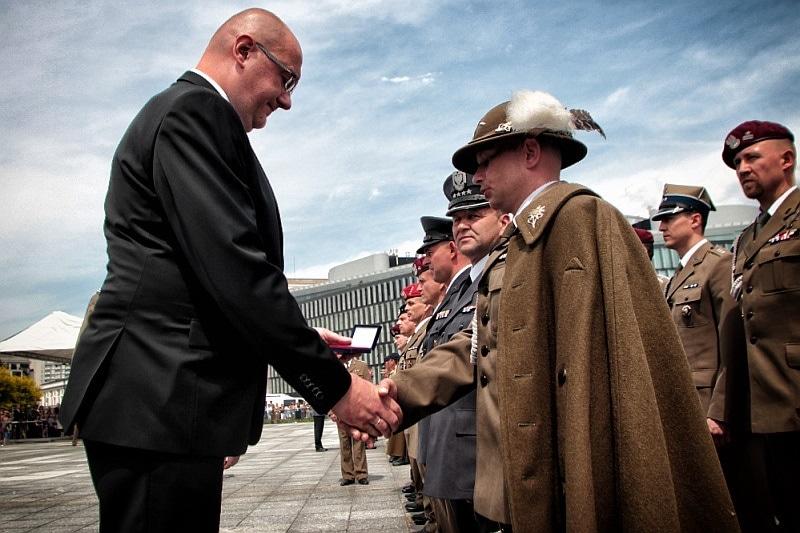 zdjęcie - Weterani misji zagranicznych świętowali w ...