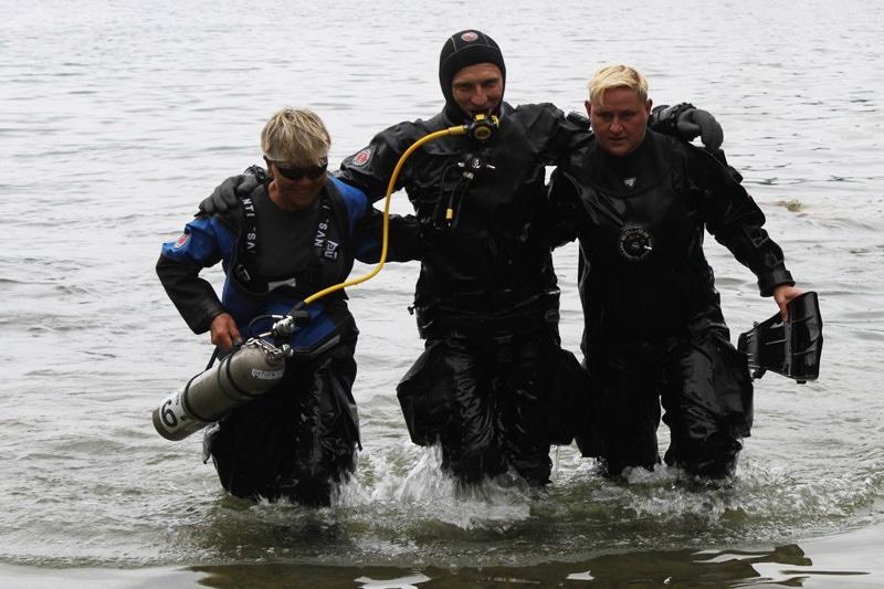 zdjęcie - Żołnierz rekordzistą w nurkowaniu