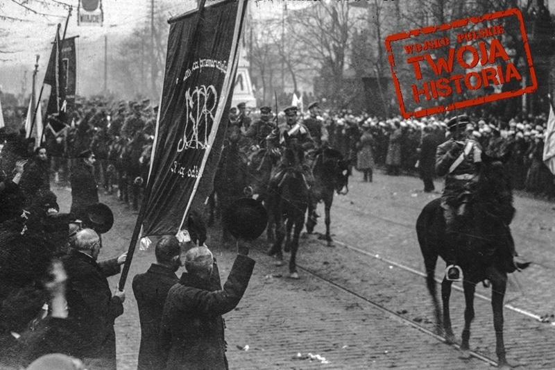 zdjęcie - 1 grudnia 1916 roku: Legioniści ...