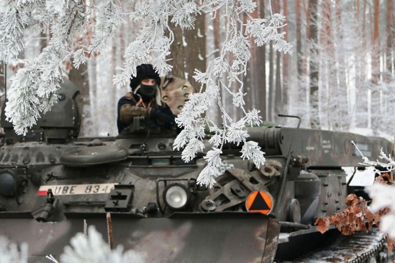 zdjęcie - Zimowe manewry podhalańczyków