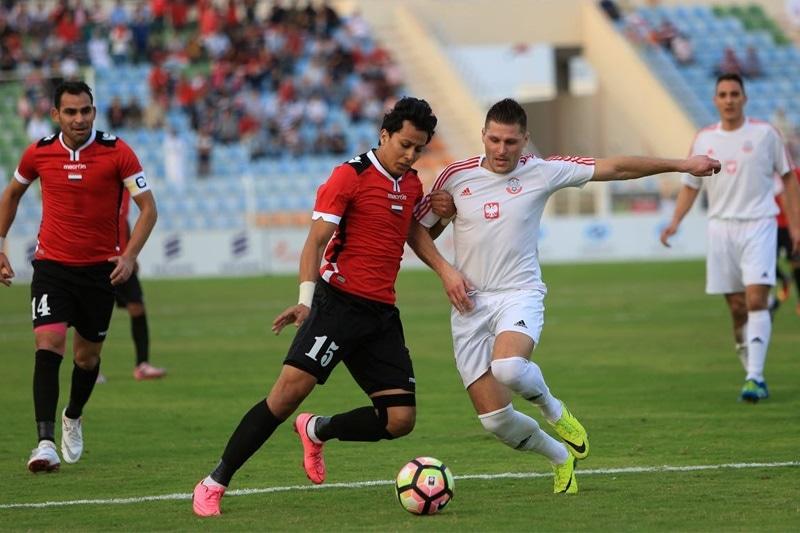 zdjęcie - Polscy piłkarze remisują z Egiptem