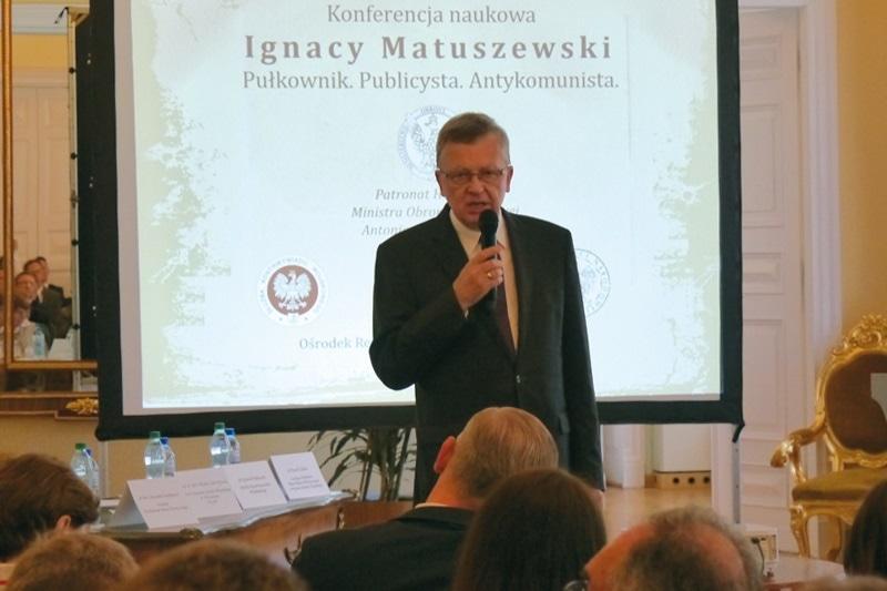 zdjęcie - Płk Ignacy Matuszewski – bohater, ...