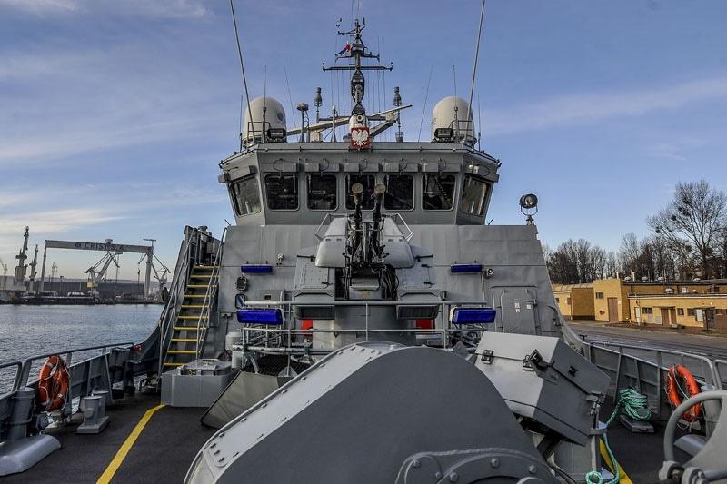 """zdjęcie - ORP """"Kormoran"""": powrót na morze"""