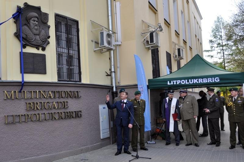zdjęcie - W Lublinie o patronie LITPOLUKRBRIG