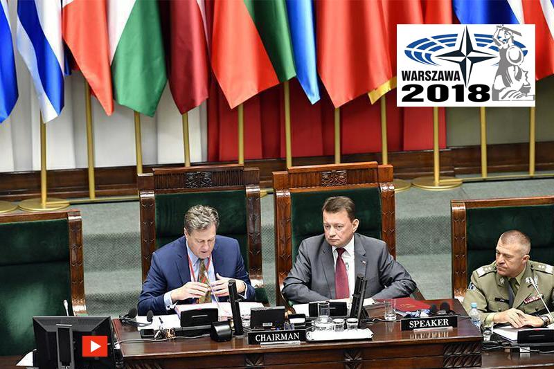 zdjęcie - Szef MON przed Zgromadzeniem Parlamentarnym ...