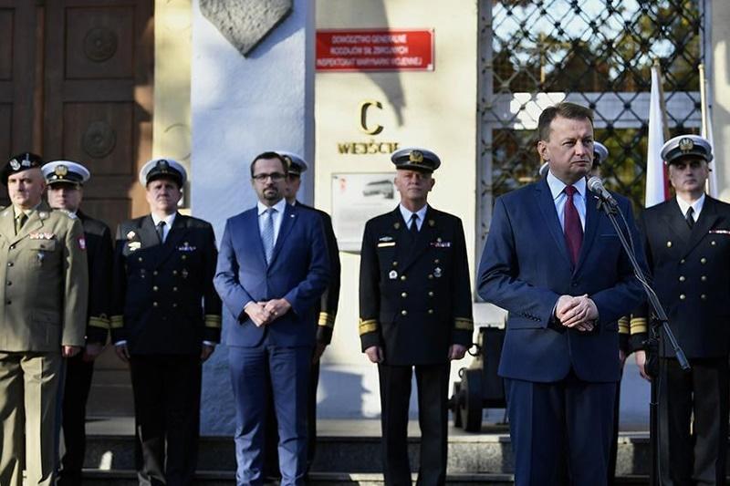 66fa26541b372 Inspektorat Marynarki Wojennej powrócił do budynku, który przed wejściem w  życie reformy z 2014 roku zajmowało Dowództwo Marynarki Wojennej.