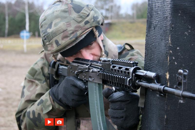 zdjęcie - Trening ogniowy strzelców