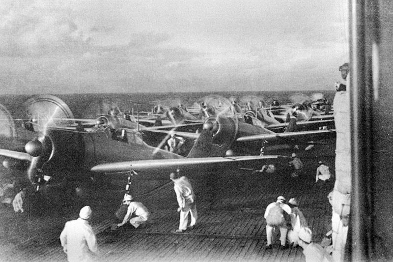 Lotniskowce historia